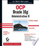 OCP: Oracle 10g Administration II Study Guide