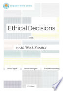 Brooks Cole Empowerment Series  Ethical Decisions for Social Work Practice