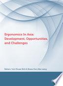 Ergonomics in Asia  Development  Opportunities and Challenges Book