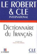 Dictionnaire du français langue étrangère CLE - Le Robert - Ebook Pdf/ePub eBook
