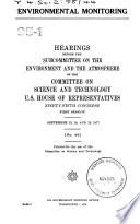 Environmental Monitoring Book