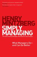 Simply Managing Pdf/ePub eBook