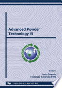 Advanced Powder Technology VI