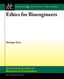 Ethics for Bioengineers Pdf/ePub eBook