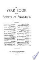 Year Book of the Society of Engineers  University of Minnesota