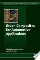 Green Composites For Automotive Applications Book PDF
