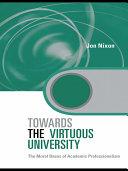 Towards the Virtuous University
