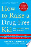 How to Raise a Drug Free Kid Book