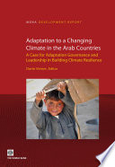 Adaptation to a Changing Climate in the Arab Countries Book