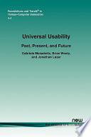 Universal Usability Book
