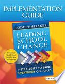 Leading School Change