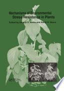 Mechanisms Of Environmental Stress Resistance In Plants Book PDF