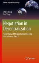 Negotiation in Decentralization Pdf/ePub eBook