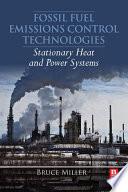 Fossil Fuel Emissions Control Technologies Book PDF