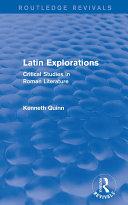 Latin Explorations (Routledge Revivals) Pdf/ePub eBook