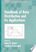 Handbook of Beta Distribution and Its Applications