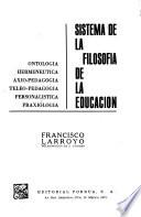 Sistema de la filosofía de la educación