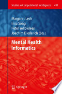 Mental Health Informatics