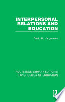 Interpersonal Relations and Education