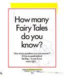 Fairy Tale Peek a book