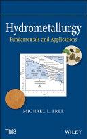 Hydrometallurgy