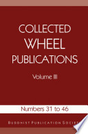 Collected Wheel Publications Volume III Book