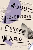 Cancer Ward Book PDF
