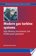 Modern Gas Turbine Systems Book