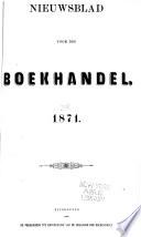 Nieuwsblad Voor Den Boekhandel Book