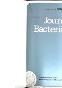 Journal of Bacteriology Book