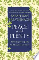 Peace and Plenty Book