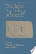 The Social Psychology of Science