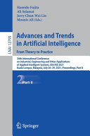 Advances And Trends In Artificial Intelligence From Theory To Practice