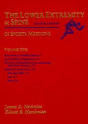 The Lower Extremity   Spine in Sports Medicine