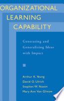 Organizational Learning Capability Book