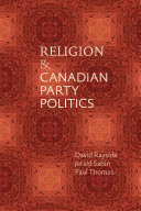 Religion and Canadian Party Politics