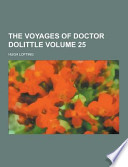 The Voyages of Doctor Dolittle Volume 25