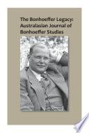 The Bonhoeffer Legacy