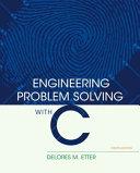 Engineering Problem Solving with C Pdf/ePub eBook