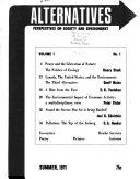 Alternatives Book