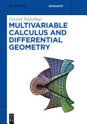 Multivariable Calculus and Differential Geometry