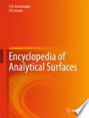 Encyclopedia Of Analytical Surfaces