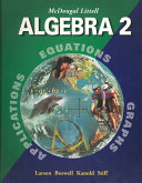 McDougal Littell Algebra 2