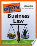 The Complete Idiot S Guide To Business Law