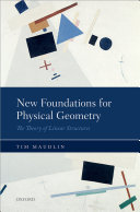 Pdf New Foundations for Physical Geometry Telecharger