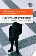 Platform Economy Puzzles Book