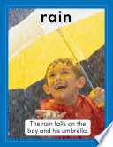 Read Online Vocabulary Concept Cards--Rain and Rainbow For Free