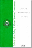 Mine ACT Procedural Rules: Eaja Rules 2011