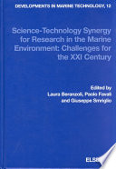 Science technology Synergy for Research in the Marine Environment Book
