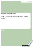 Web 2 0 Technologies In Education A Brief Study Book PDF